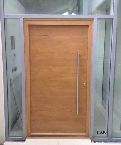 Oak doors by jonathan elwell latest news for Door frame with side window