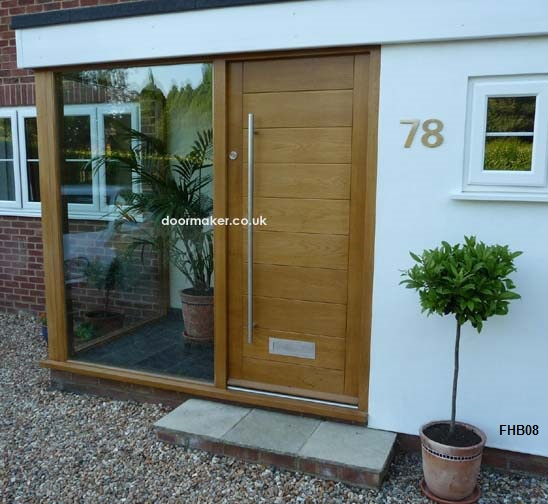 Oak doors oak doors contemporary doors bespoke doors for Porch designs for bungalows uk