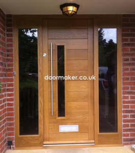 exterior oak doors uk. oak doors contemporary exterior uk w