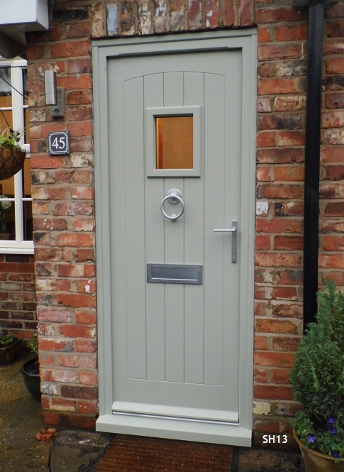painted cottage door