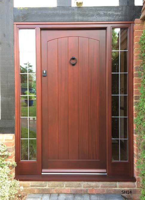 sapele mahogany type cottage door
