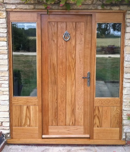 Traditional Front Doors Made From Oak And Hardwoods