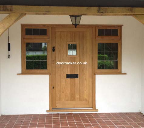 Traditional front doors made from oak and hardwoods for Oak front doors